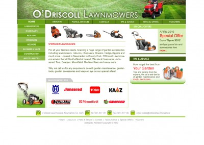 Driscol Lawnmower