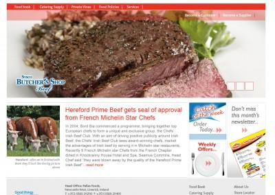 Pallas Foods Web Design