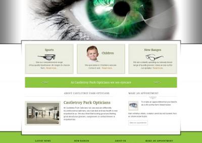 Opticians Website