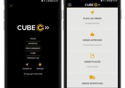 Cube-interface